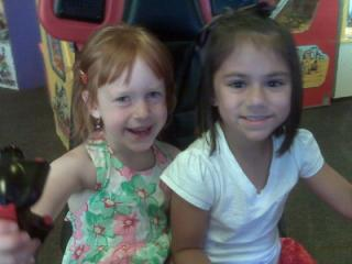 Gabby & Jordan at Chucky Cheese