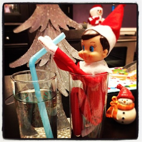 Oh Linky #elfontheshelf