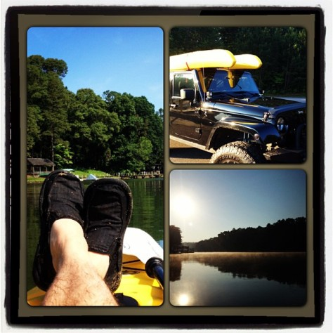 Going Back in the Morning! #kayak