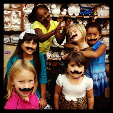 Gabby's Party Got Crazy Happy 8th Birthday #mustache