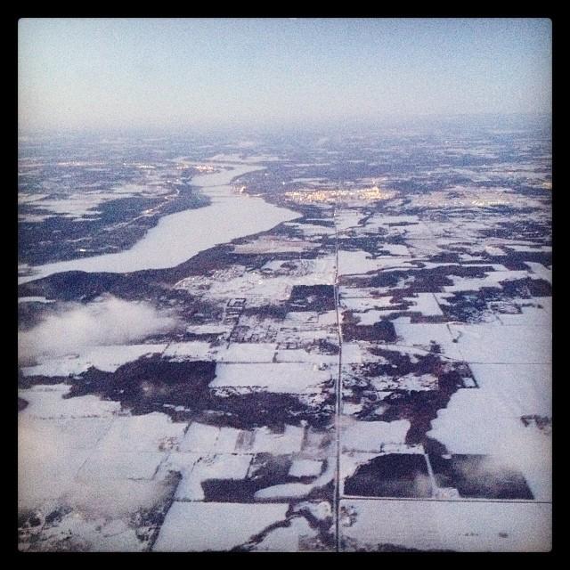 Hello Minneapolis! #snow