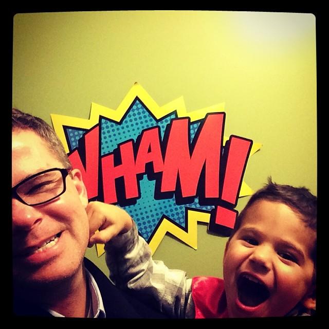 #Superhero attack!