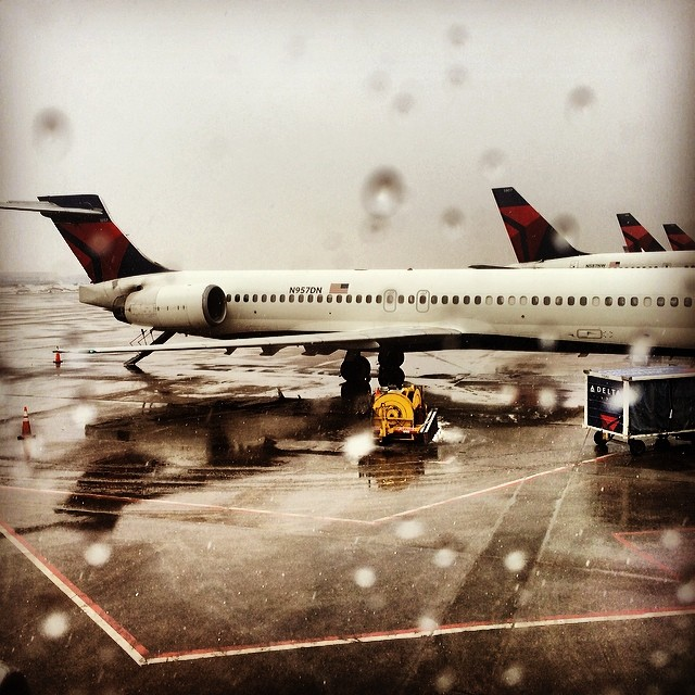 By #Minneapolis. Can't wait to see my family!! #racingthesnow