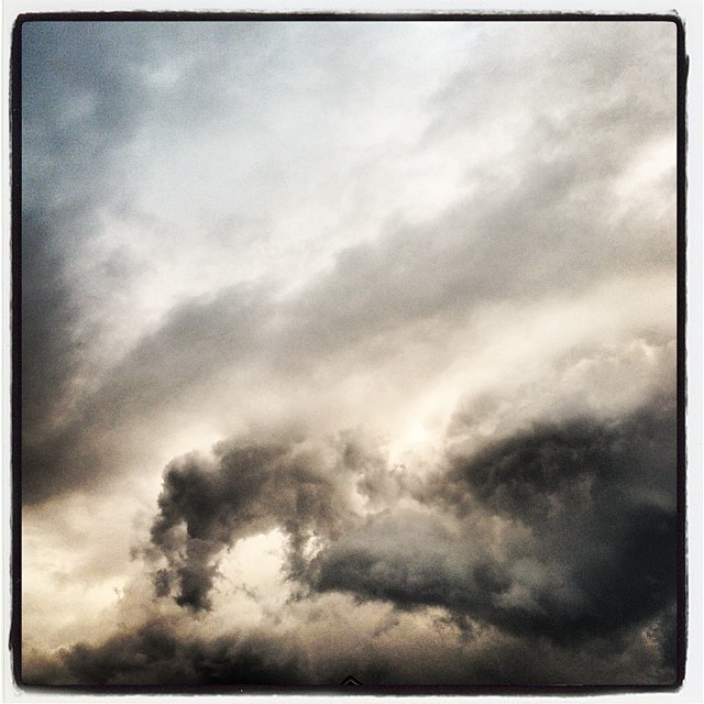 #clouds #StormsAComin