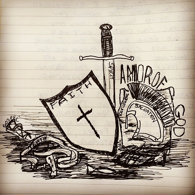#ArmorOfGod - Post Series coming soon to Revolution365.org like if you're in