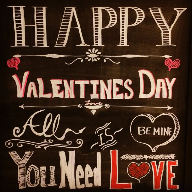 Welcome sign's done #valentines #bemine