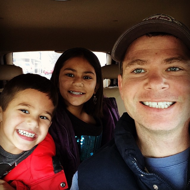 The snow is melting and I didn't get to play in it with the kids this year, but I did get my breakfast date with these two! #biblebreakfast #meetthemckinneys