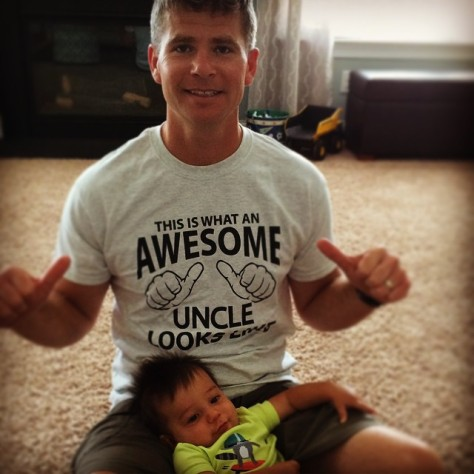 #unclesAreFathersToo #unclesrock @F3Isotope