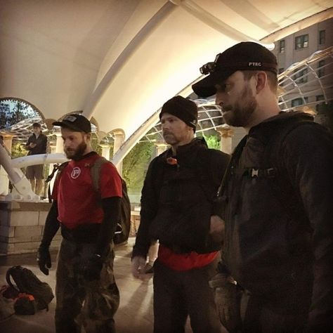 Questions answered. #@GoRuck @f3isotope PT, TBC & I answering the questions at Tough Endex