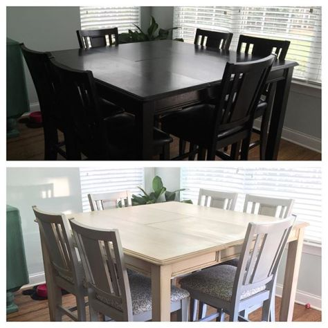 Table & Chairs Refinish ProjectIn the books... Whew!